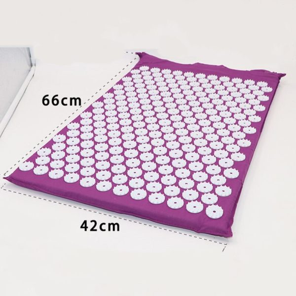 Acupressure Mat & Pillow Set/Acupuncture Mat Spike Yoga Mat for Massage Wellness Relaxation and Tension Release yoga mat case 6